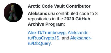 Arctic code contributor