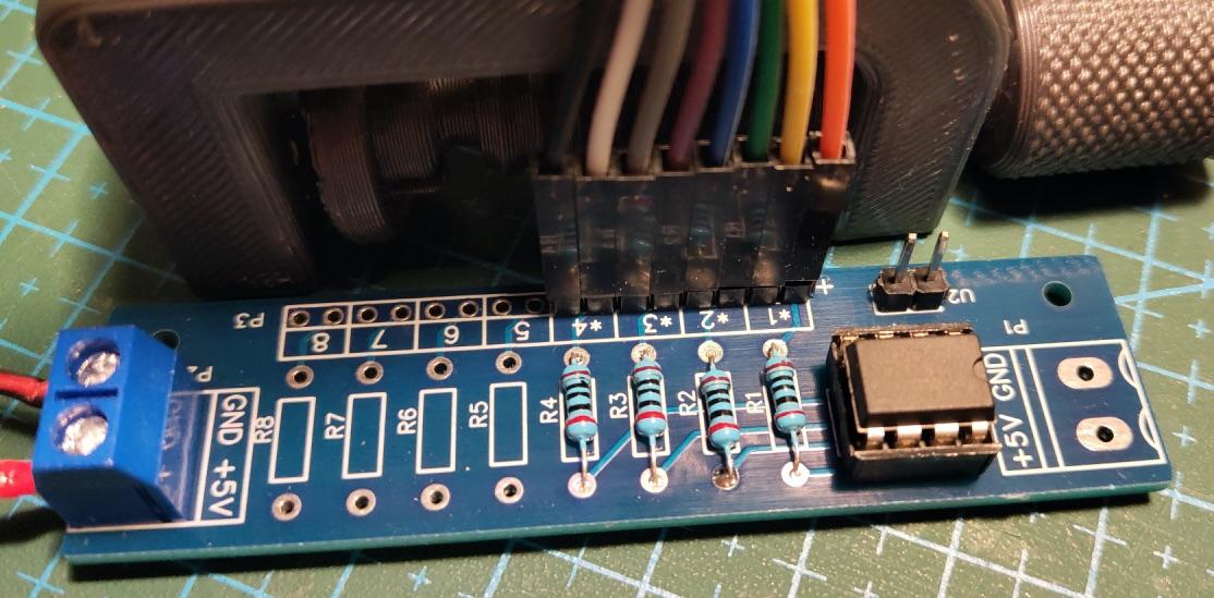 Тестовый контроллер освещения