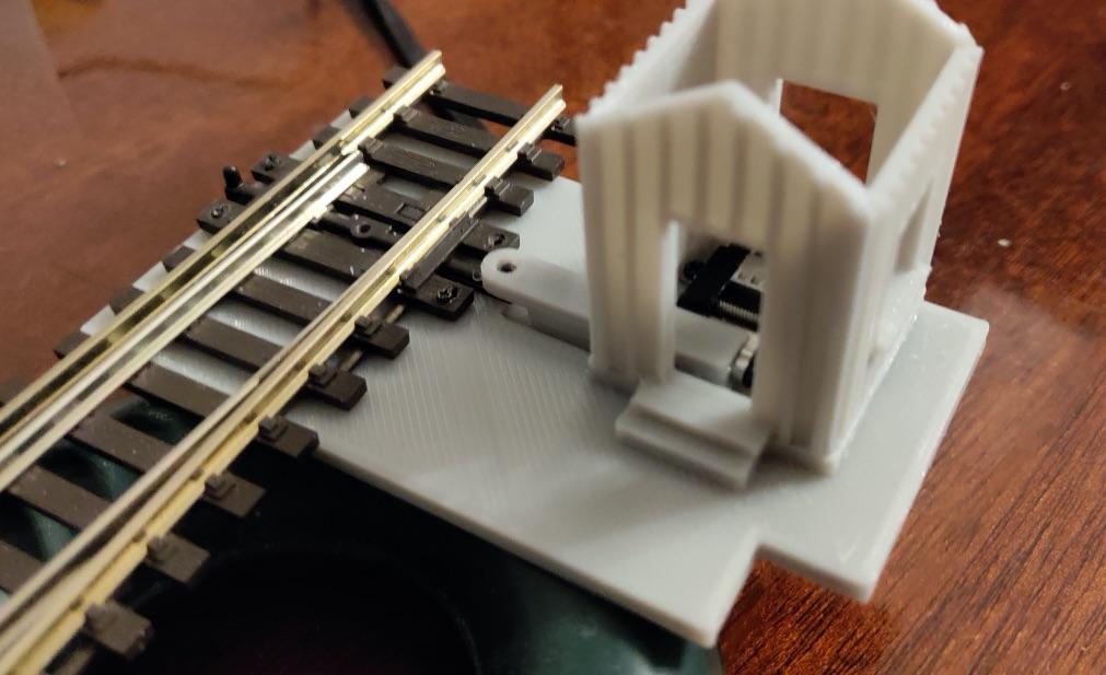 Прототип привода с будкой