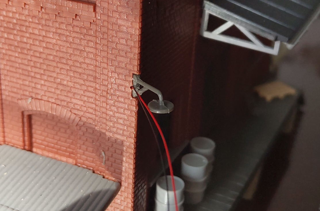 Примерка провода